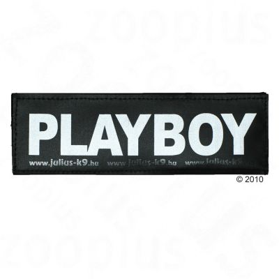 Julius K9 Logo Stickers Small (11 x 3 cm) - PLAYBOY