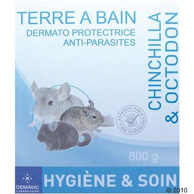 Demavic Bathing Dust for Chinchillas - 800 g