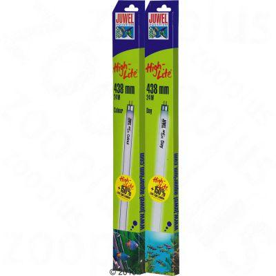 Lot tubes fluorescents Juwel Colour + Day High-Lite T5- 2 x 28 W, L 59,0 cm