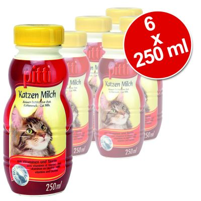 Pitti Cat Milk - 6 x 250 ml