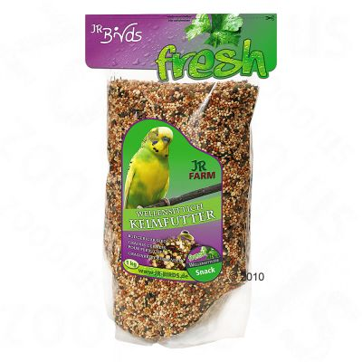 JR Birds Germinating Seed Feed for Budgies - 2 pack 2 x 1 kg