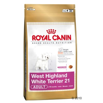 Royal Canin Breed West Highland White Terrier 21 Adult - Economy Pack: 3 x 4 kg