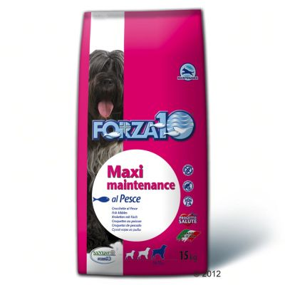 Forza 10 Maxi Maintenance with Fish - Economy Pack: 2 x 15 kg