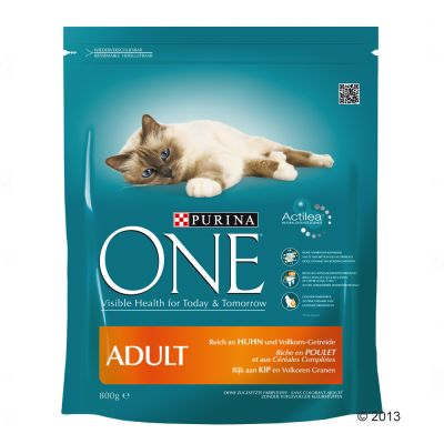 Purina ONE Adult - Chicken & Whole Grains - Economy Pack: 4 x 1.5kg