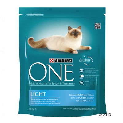 Purina ONE Light - Chicken & Wheat - Economy Pack: 4 x 800g