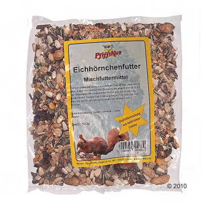 Pfiffikus Squirrel Food - 2 x 500g