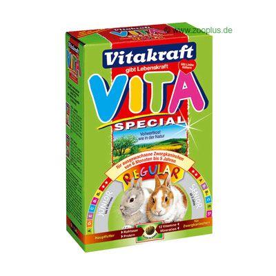 Vitakraft Vita Special Regular pour lapin nain - 3 x 600 g