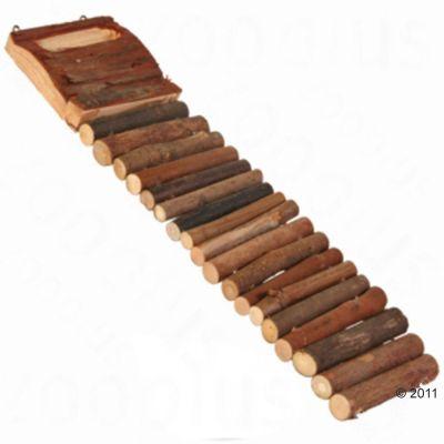 a‰chelle en bois pour rongeur - L 27 cm environ (1 echelle)