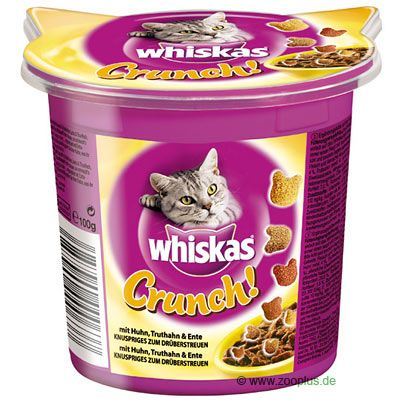Whiskas Crunch with Chicken, Turkey & Duck - Saver Pack: 3 x 100g