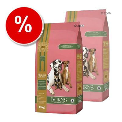 Burns Duck & Brown Rice Adult - Economy Pack: 2 x 15 kg