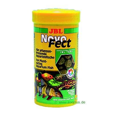 JBL NovoFect Food Tablets - for Ground-Feeding Fish - 250 ml