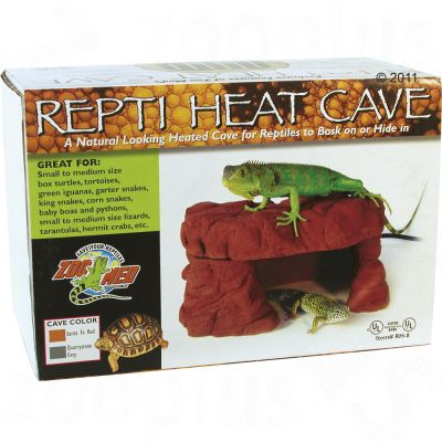 Grotte chauffante Repti Heat Cave de Zoo Med- L 26 x l 18 x H 13 cm environ