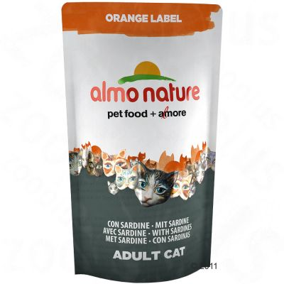 Almo Nature Dry Cat Food Adult Sardine - Economy Pack: 5 x 750 g