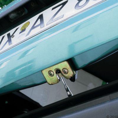 Aération arrière Z33 pour transport de chien en voiture- 1 système d´aération arrière