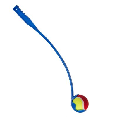 Tennis Ball Launcher Dog Toy - Colour: blue