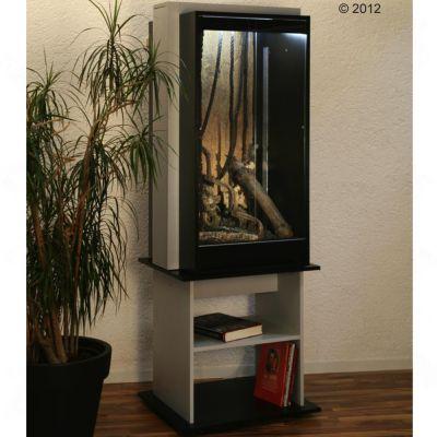 Terrarium et sous-meuble Kenia B&S 120 V- L 76 x l 60 x H 224 cm