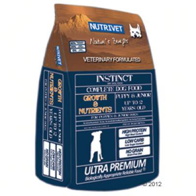 Nutrivet Instinct Growth & Nutrients - 12 kg