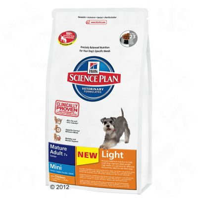 Hill's Canine Mature Adult Light 7 + Mini Chicken - 800 g
