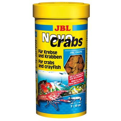 JBL NovoCrabs Food Chips - 250 ml