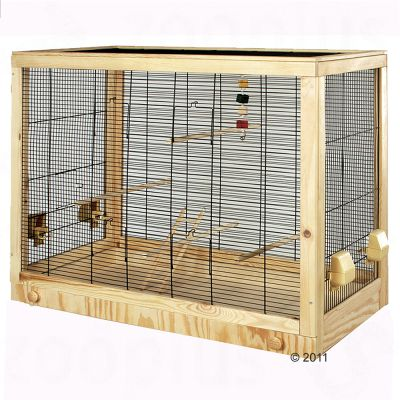Diana Budgerigar Cage - cage minus stand: 99 x 52 x 78 cm (LxWxH)
