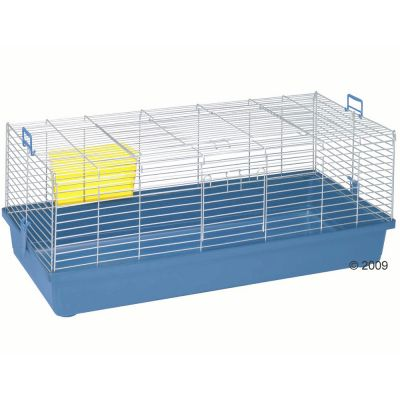 Skyline Maxi XXL Rabbit and Guinea Pig Cage -  Base Dark Blue