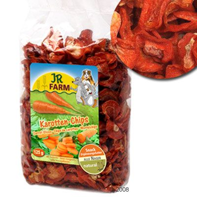JR Farm Carrot Chips - 5 x 125g