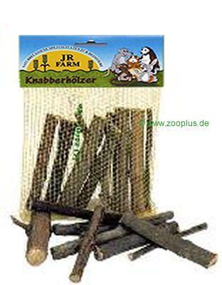 JR Farm Nibble Wood - Double Pack: 2x 20 pc.