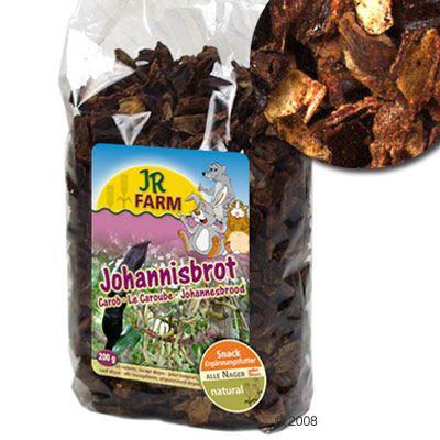 JR Farm Caroube pour rongeur et lapin - 3 x 500 g