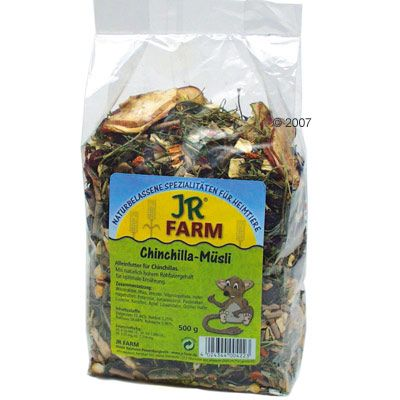 JR Farm Chinchilla Cereal - Saver Pack: 2 x 500 g