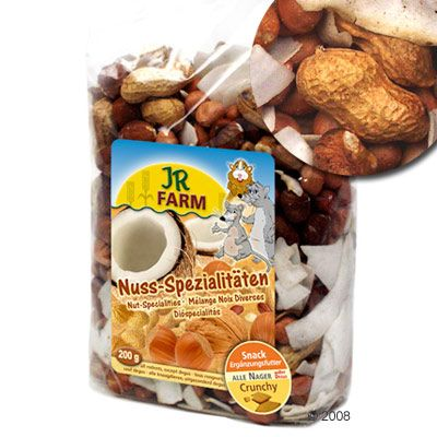 JR Farm Nut Specialties - Saver Pack: 3 x 200 g