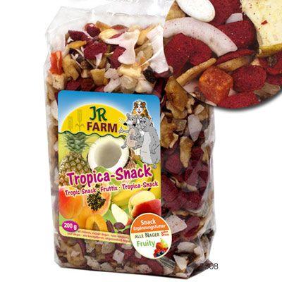 JR Farm Tropica pour rongeur, lapin et perroquet - 200 g