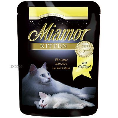 Miamor Ragout Royale 22 x 100 g Kitten Savings Pack - With Poultry