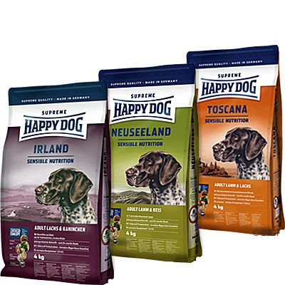 Happy Dog Culinary World Tour Taster Pack - Africa New Zealand Ireland