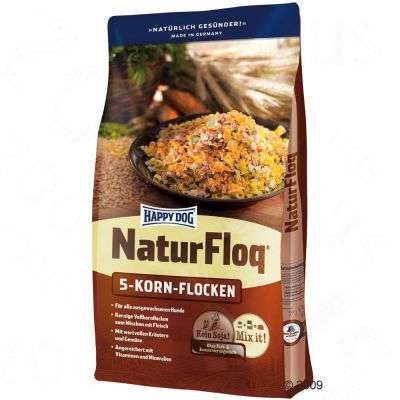 Happy Dog Natur-Floq 5-Korn-Flocken – 10 kg