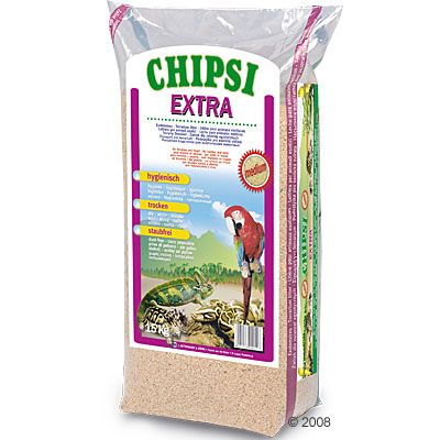 Chipsi Extra Beechwood Chips - 15 kg, Medium-Grain