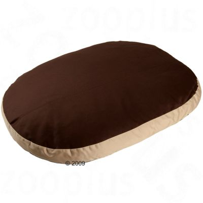 Cozy Cappuccino Dog Pillow - 115 x 81 x 9 cm (L x W x H)