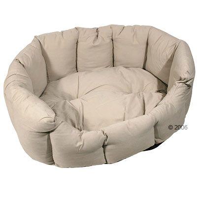 Cat Bed Cozy Sand - 50 x 40 x 22 cm (L x W x H)