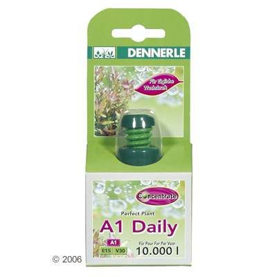 Dennerle A1 Daily Fertilizer - 50ml, for 25.000l Aquarium Water