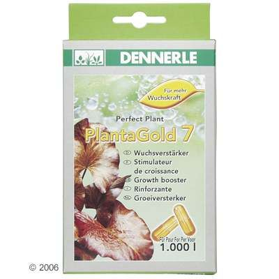 Dennerle PlantaGold 7 Growth Promoter - 20 Capsules