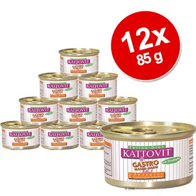 Kattovit Saver Pack 12 x 85g - Low Protein Chicken