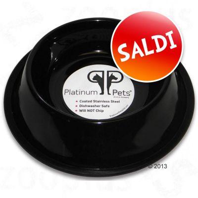 Ciotola in acciaio Platinum Pets per gatti Black - - 0,175 l,  Ø 15 cm