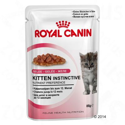 Royal Canin Kitten Instinctive in Jelly - Saver Pack: 24 x 85g