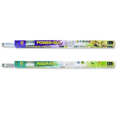 Hagen Power-Glo + Aqua-Glo Fluorescent Aquarium Lamps - 2 x 30 Watt, L 89.46 cm