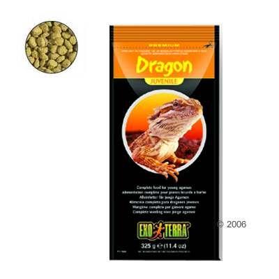 Aliment pour reptiles Hagen Exo Terra Dragon Juvenile- 325 g