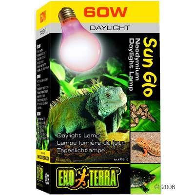 Ampoule néodyme lumière du jour Sun Glo Hagen Exo Terra- 25 Watt