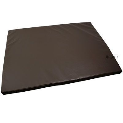 Hygienic Dog Mattress Mister Big, Coffee - 120 x 90 x 6 cm  (L x W x H)