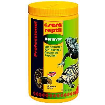 Aliment pour reptiles Sera Reptil Professional herbivor- 1 L