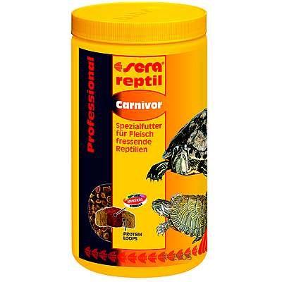 Aliment pour reptiles Sera reptil Professional carnivor- 1 L
