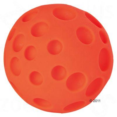 Balle à trous pour chien- 1 balle