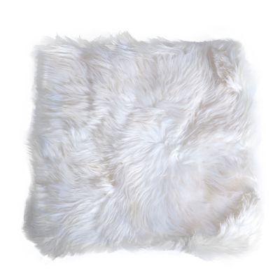 Coussin pour chat en peau de mouton- L 45 x l 45 cm
